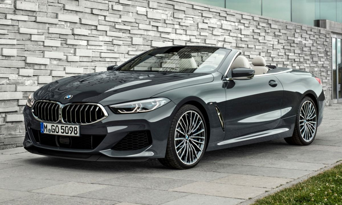 New Bmw 8 Series Convertible Puts Its Top Down In Style With