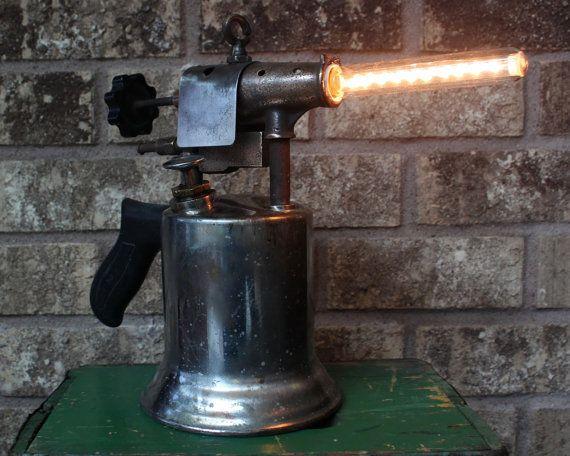 Industrial Lighting Man Cave Decor Art Deco Vintage