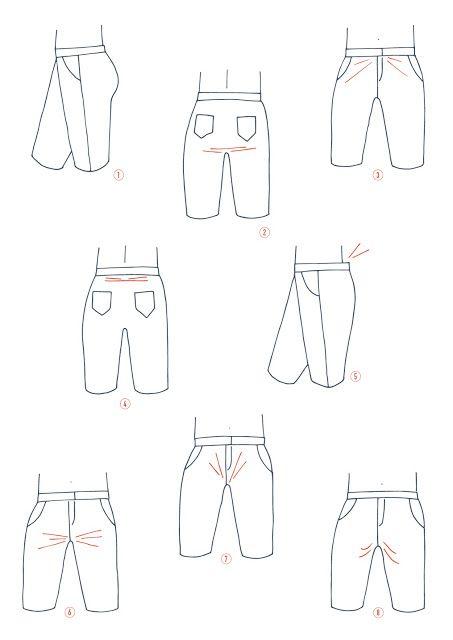 Pantalon Port : comment modifier la fourche du pantalon
