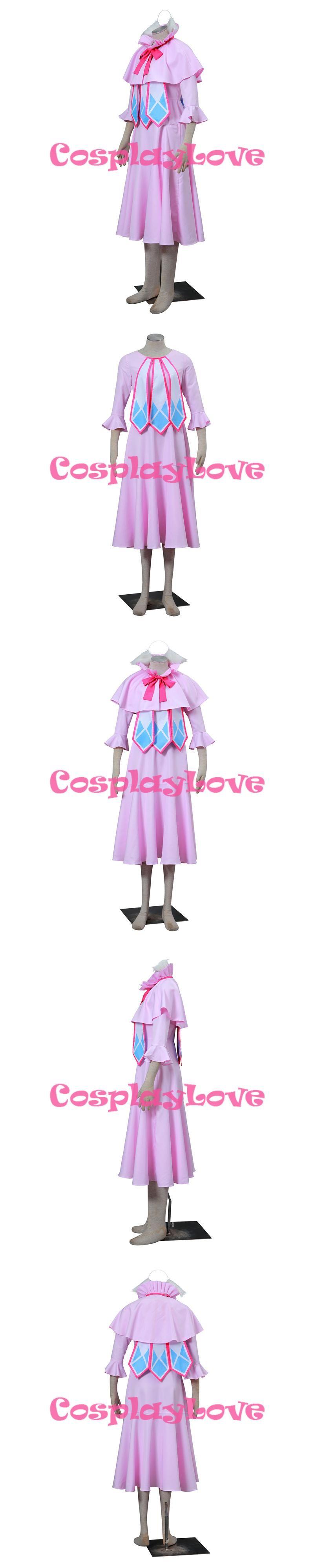 fairy tail mavis vermilion cosplay costume custom made halloween