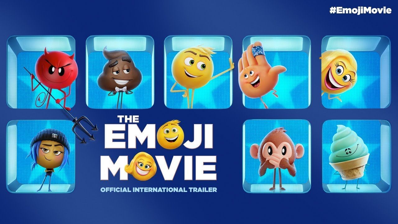 Image result for The Emoji Movie poster