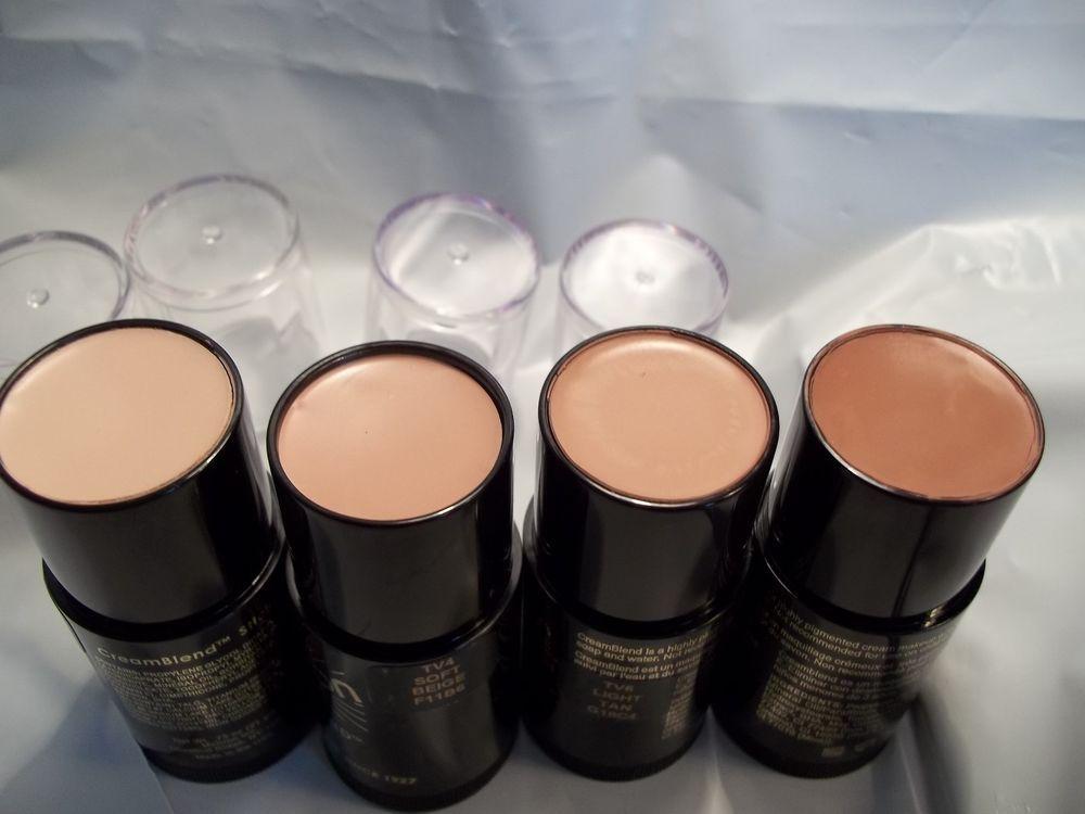 Mehron Cream Blend Stock Theatrical Professional Makeup Medium Shades Usa Made Professional Makeup Mehron Makeup