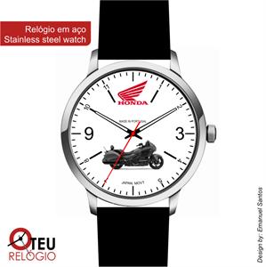 Mostrar detalhes para Relógio de pulso OTR HONDA MOTO 001