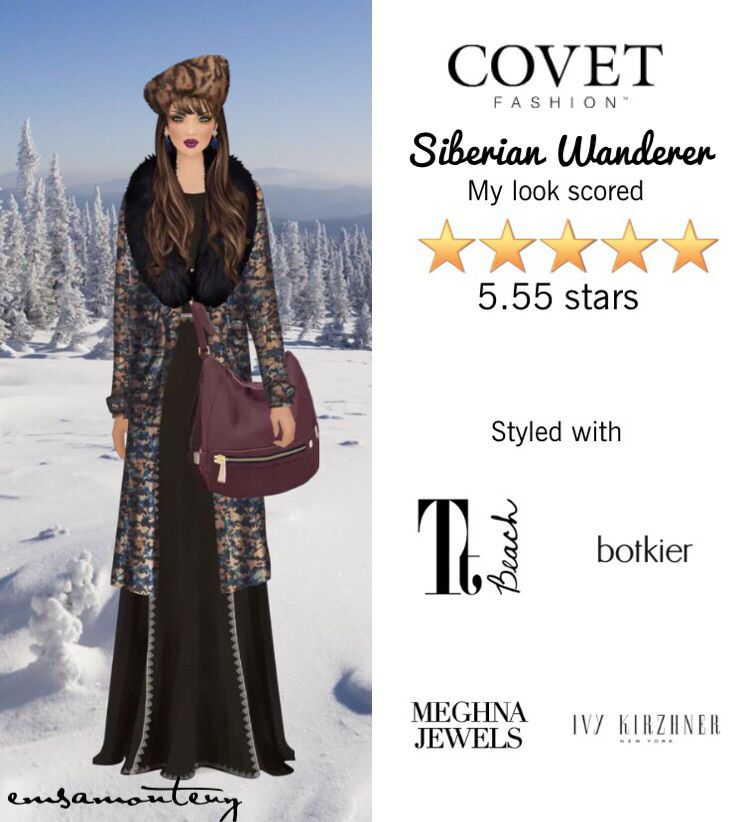 Siberian Wanderer @covetfashion #covet #covetfashion #covetfashionapp #fashion #womensfashion #siberian