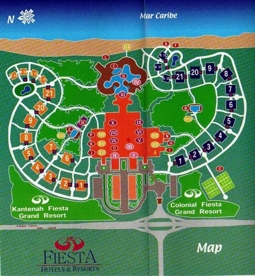 Grand Palladium Colonial Riviera Maya Hoteles Y Resorts De