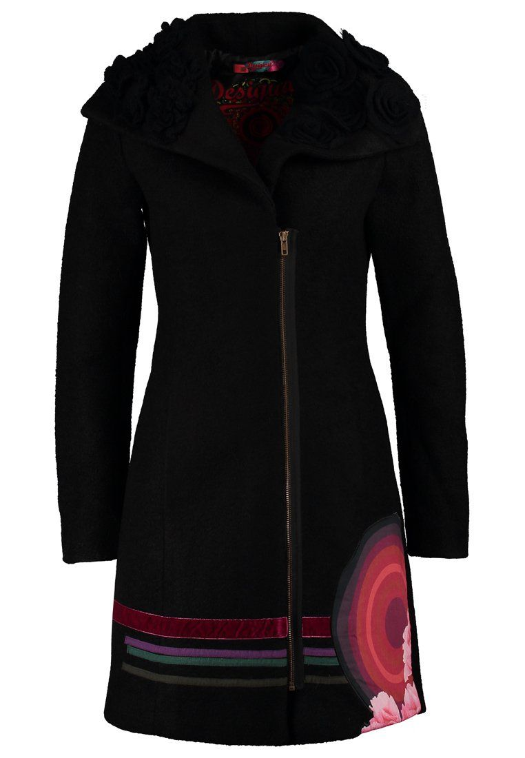 Desigual ABRIG JESSY Cappotto invernale negro - http://www.siboom.it