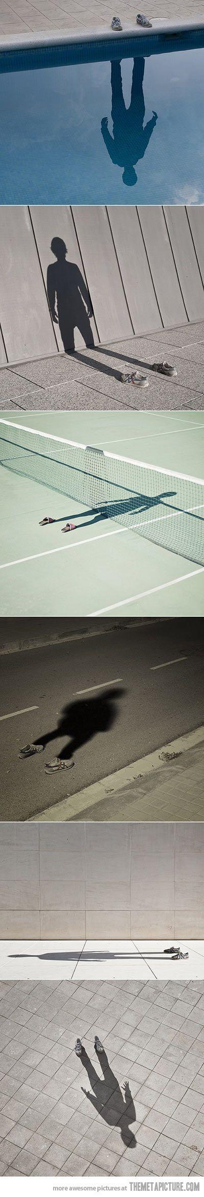 Creative photos using shadows…