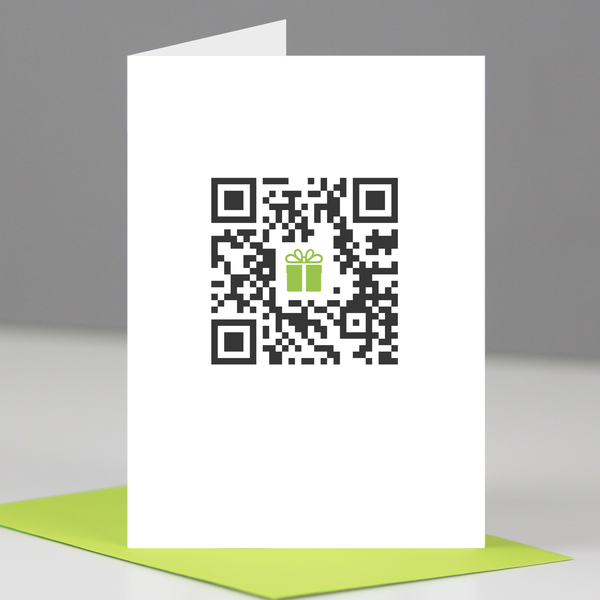 Happy birthday QR code card Very smart card from For The Love of – Nerdy Birthday Card
