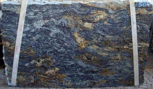 Blue Fire Blue Granite Granite Slab Fire