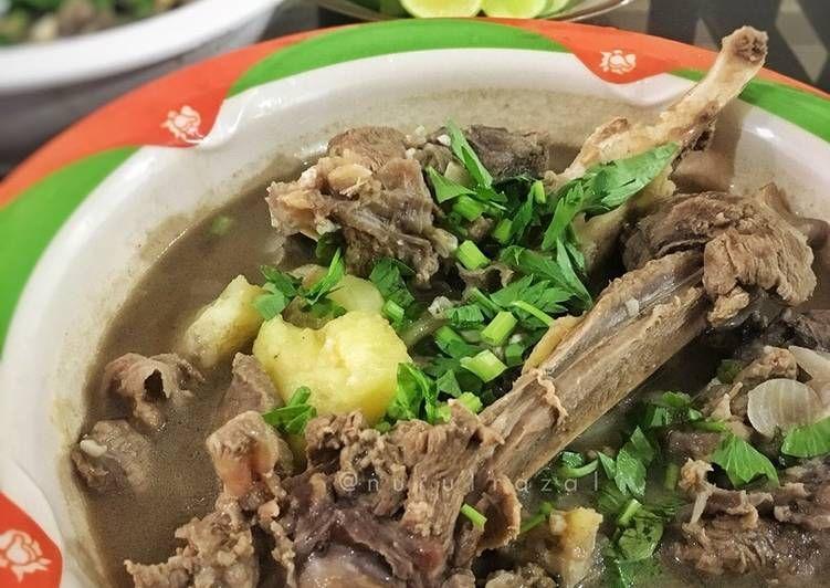 Resepi Sup Daging Tulang Yang Mudah Aneka Resepi Enak Resep Sup Daging Resep Makanan Resep Sup