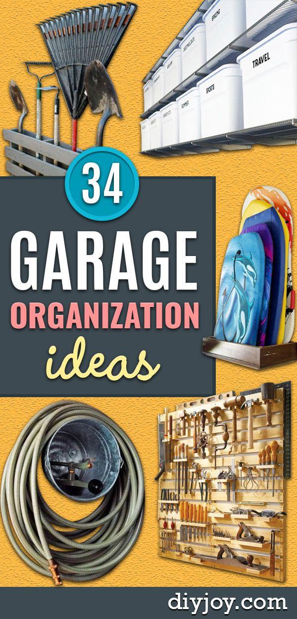 34 garage organization ideas garage organization diy on best garage organization and storage hacks ideas start for organizing your garage id=88675