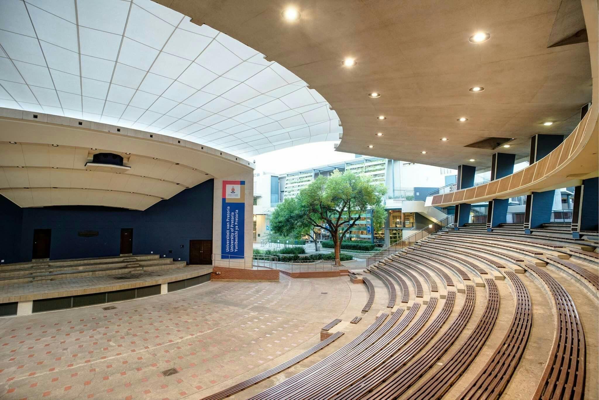 Amphitheater Closure At University Of Pretoria By Arc Architects Pretoria Architect Architecture Architectural Services