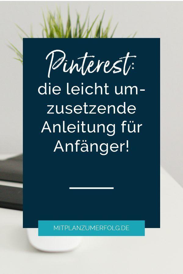 Pinterest Anleitung Was ist pinterest, Blog erstellen