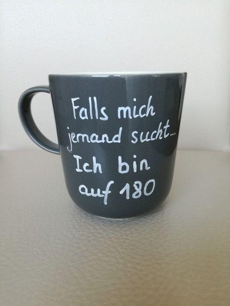 Becher & Tassen - Tasse mit Spruch lustige Tasse witziger Spruch - ein Designerstück von Tassen-Shop bei DaWanda #quotesaboutcoffee
