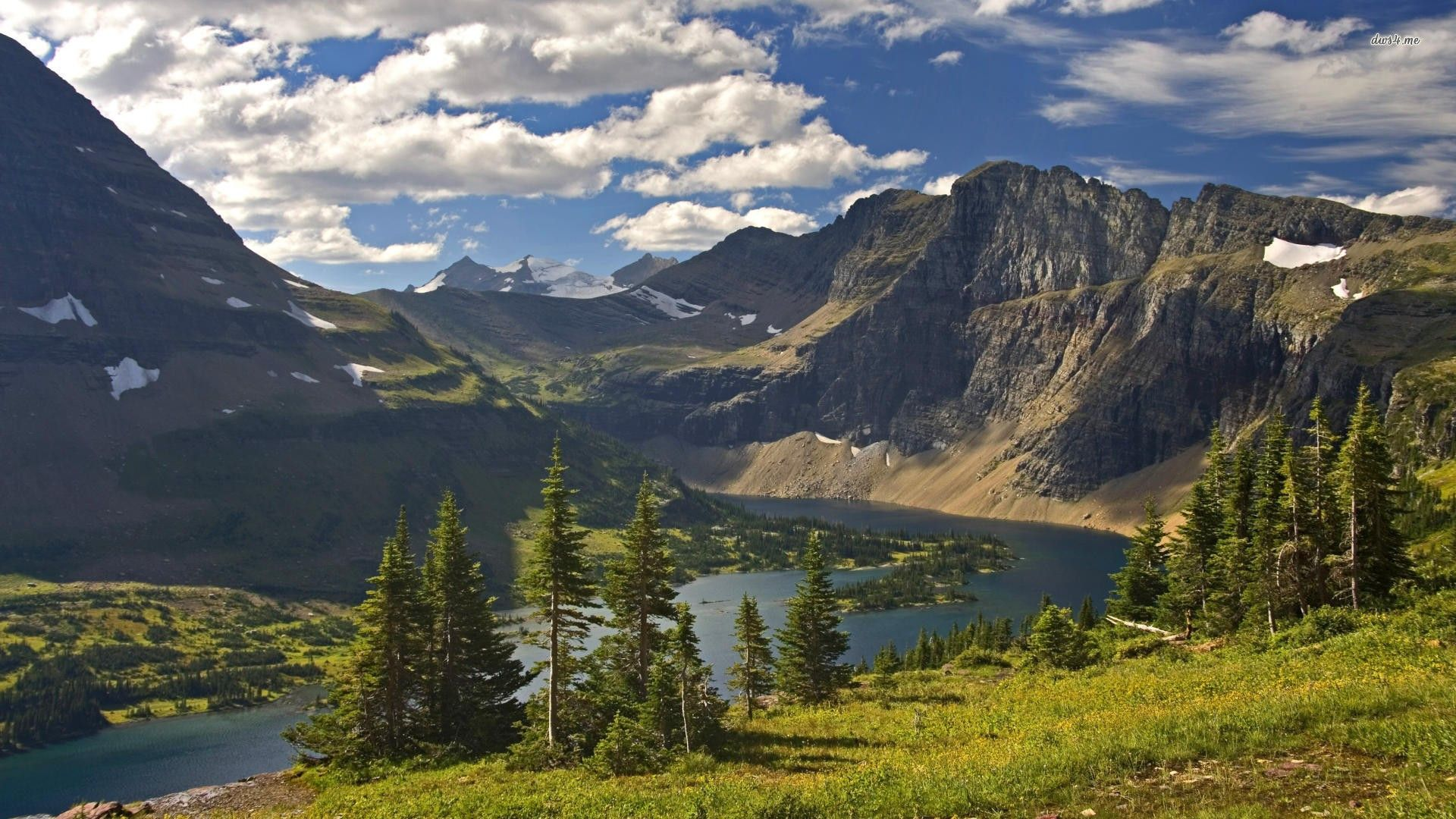 Glaciernationalparkwallpaper Glacier National Park Usa