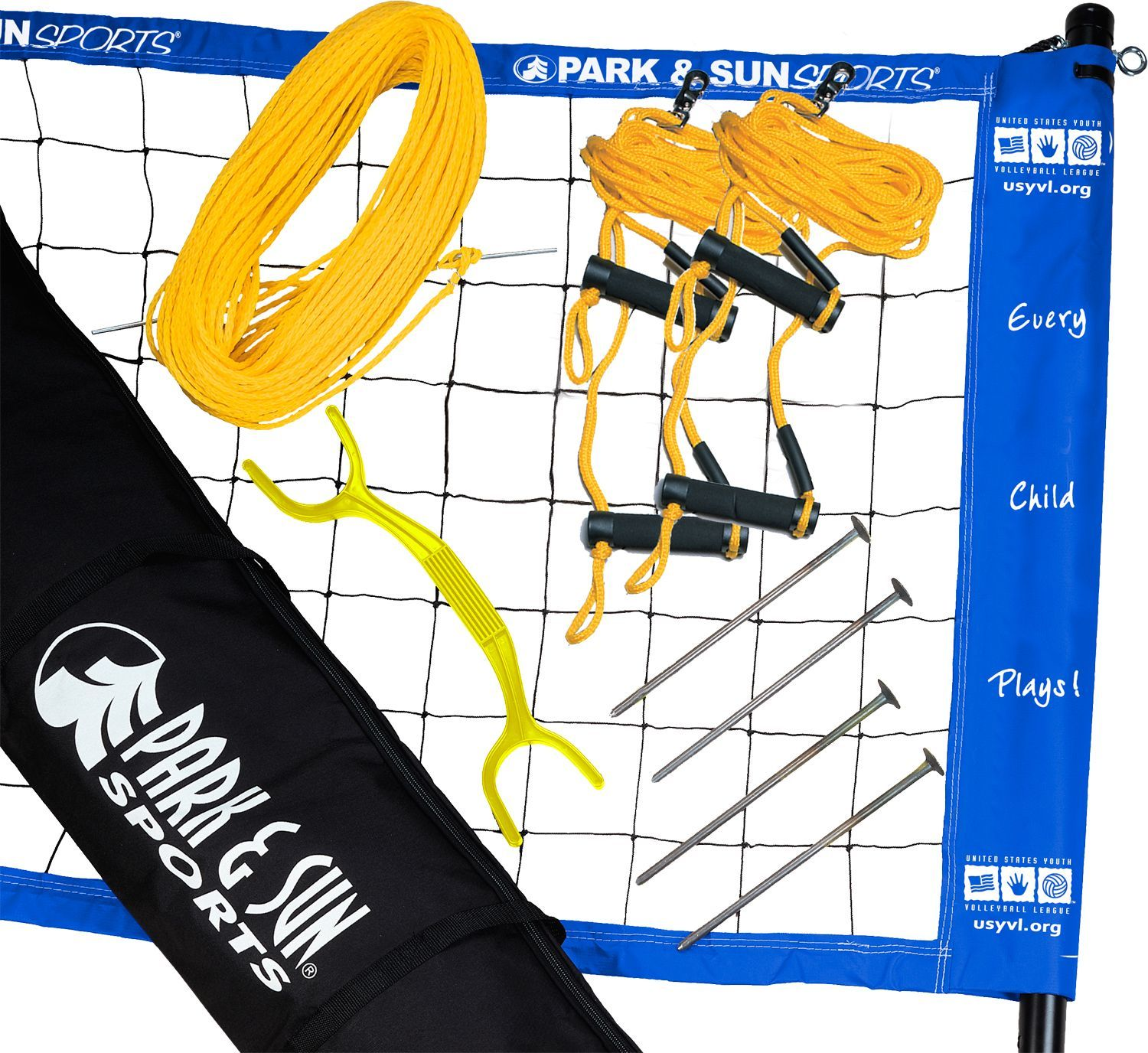 Park Sun Youth Volleyball Set Volleyball Set Volleyball Volleyball Net