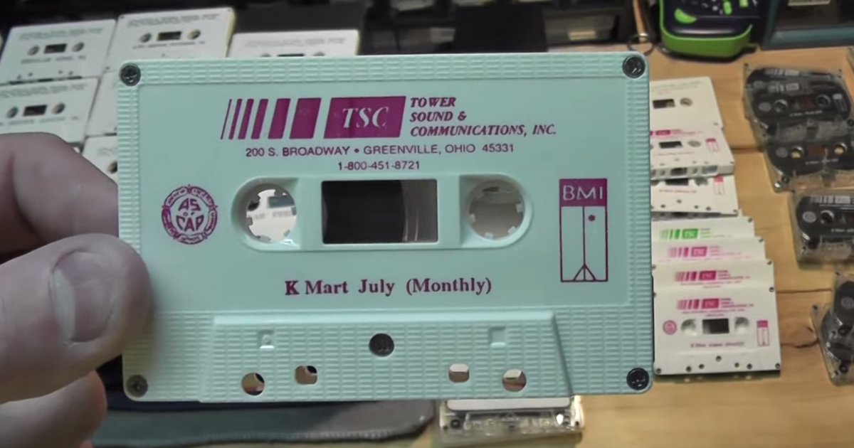 Ex Kmart Employee Shares Five Years Worth Of In Store Background Music Music Charts Music Kmart