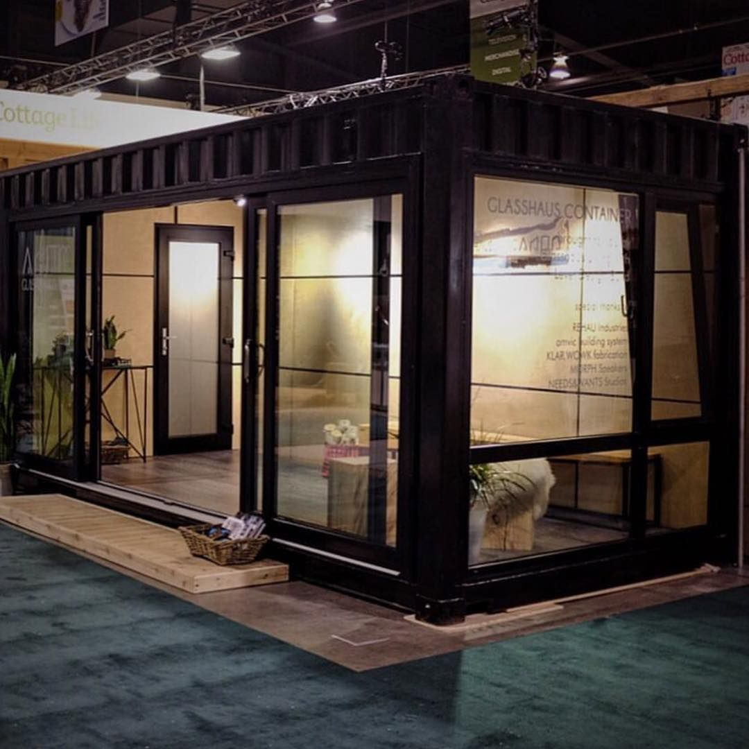 """Obsessed with this container we built with @glasshausliving! Be sure to check out the final product this weekend at the @cottagelife show.  #cottageshow…"""