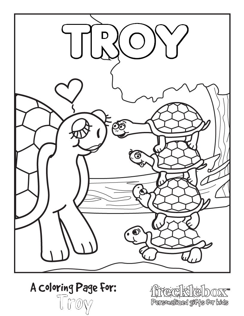 Customized Coloring Page | School stuff | School coloring ...