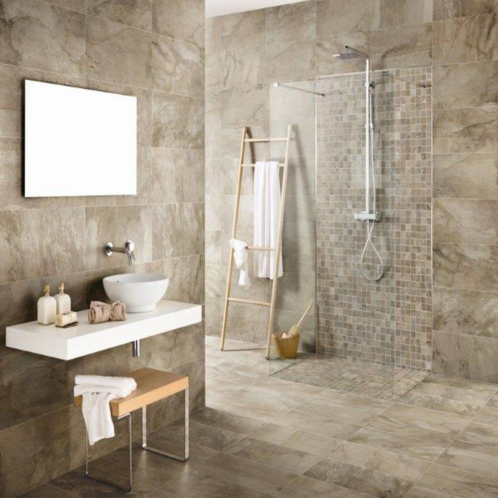 Found On Bing From Www Cosmotiles Co Uk Bathroom Wall Coverings Wall And Floor Tiles Large Tile Bathroom