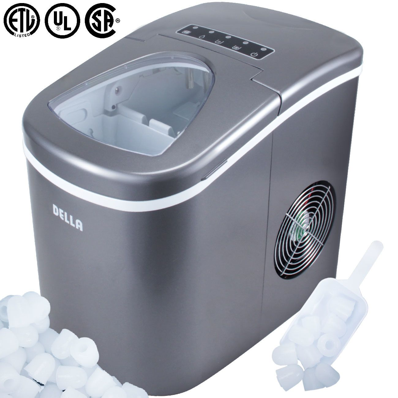 26 Lb Daily Production Portable Ice Maker Ice Maker Machine