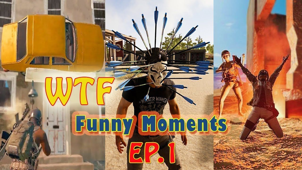 PUBG MOBILE WTF And FUNNY EPIC MOMENTS EP 1 GAMESANIME