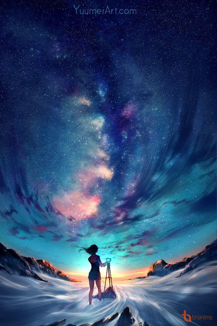 [Fanart] Bầu trời của tôi
