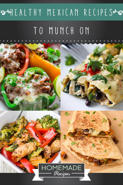 20 Healthy Mexican Recipes
