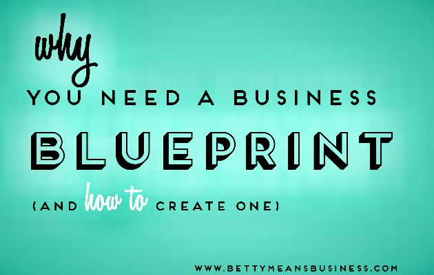 Why you need a business blueprint business blogging and business why you need a business blueprint malvernweather Gallery