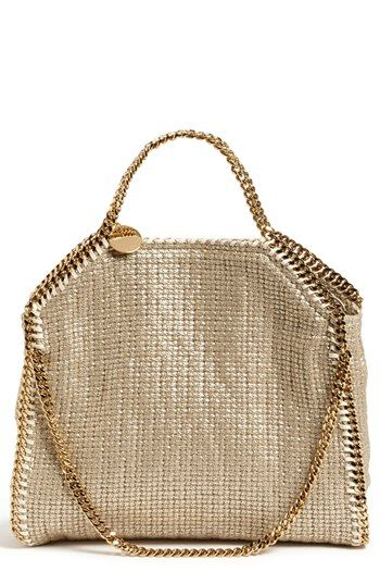Stella McCartney  Falabella Tricot  Foldover Tote available at  Nordstrom 0db42f39856d0