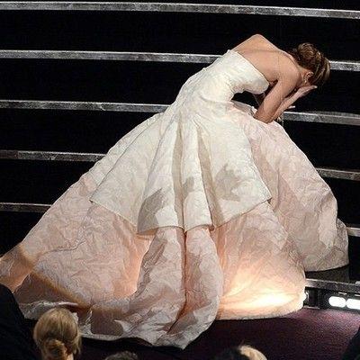 Herp Derp. Jennifer Lawrence Oscars 2013