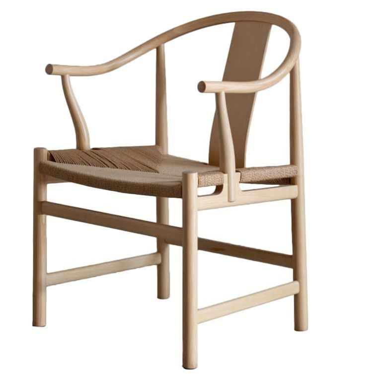 Hans Wegner Chinese Chair   Love The Color