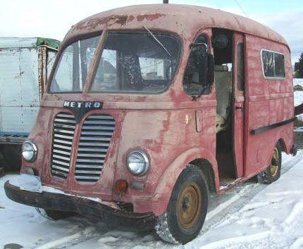 1950 IHC International LM-120 Metro Van For Sale | Trucks | Van for