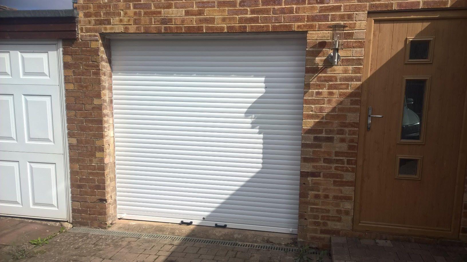 Manual Insulated Roller Garage Door installed in
