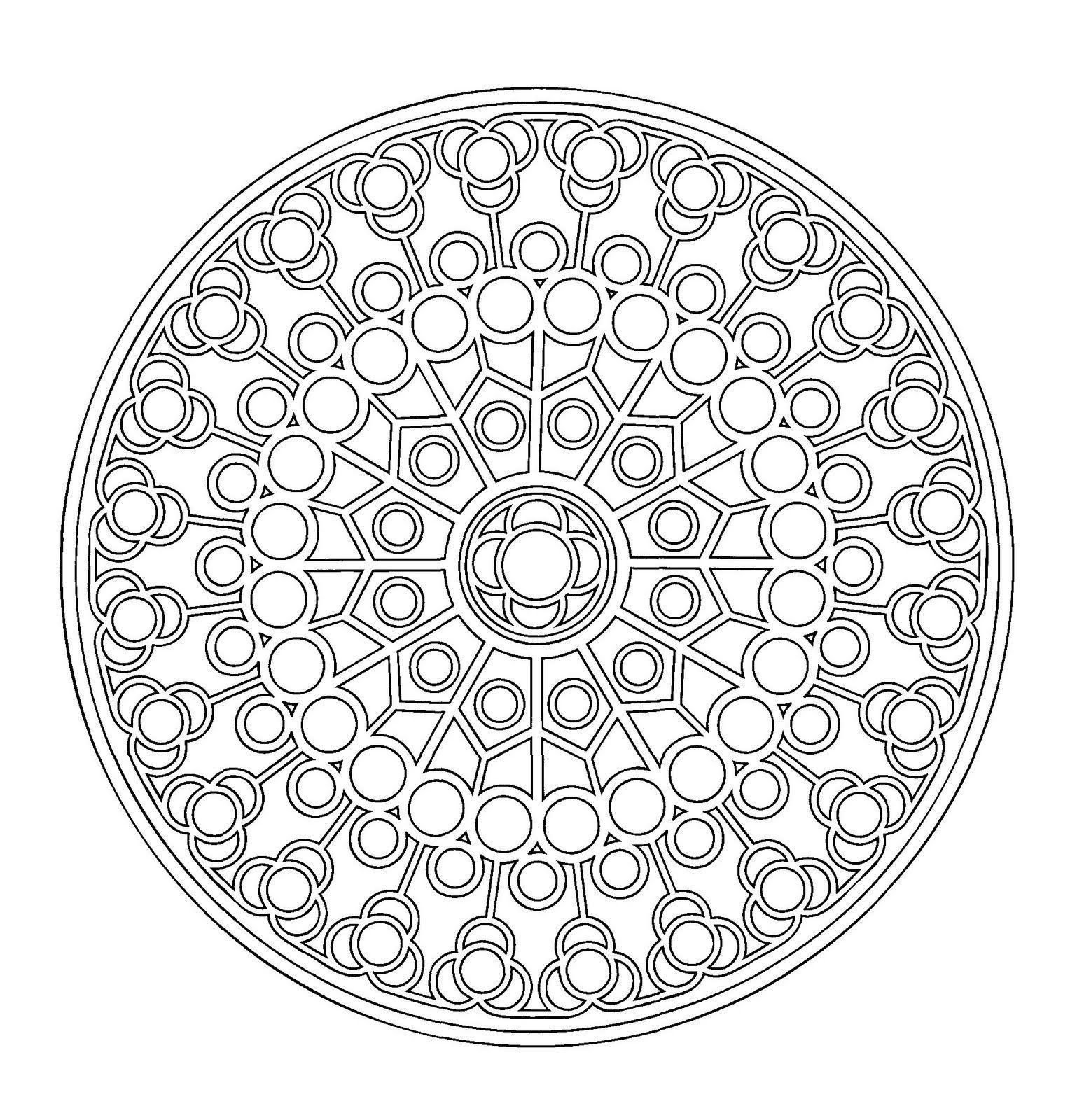 Mandala+catalán+II.jpg (1528×1600)   mandala, coloring pages etc ...