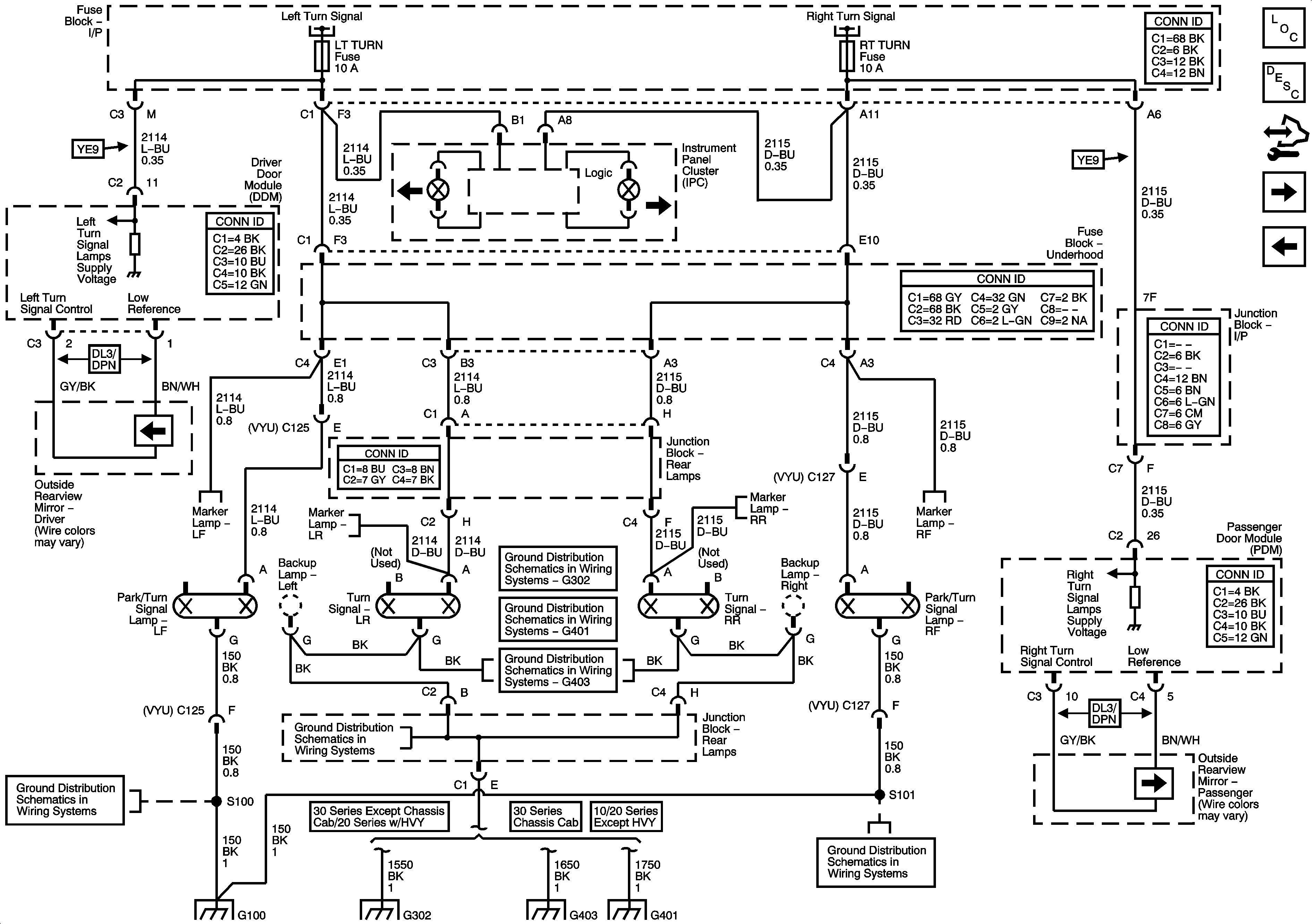06 Chevy Tahoe Break Light Board Wiring Diagram