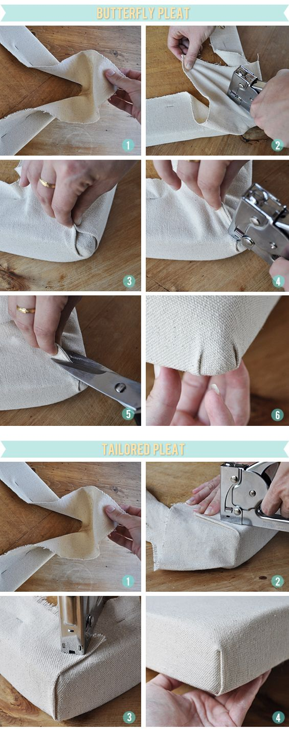 Great Tutorial For How To Upholster Chair Corners Furniture Upholstery Upholstery Diy Furniture Diy