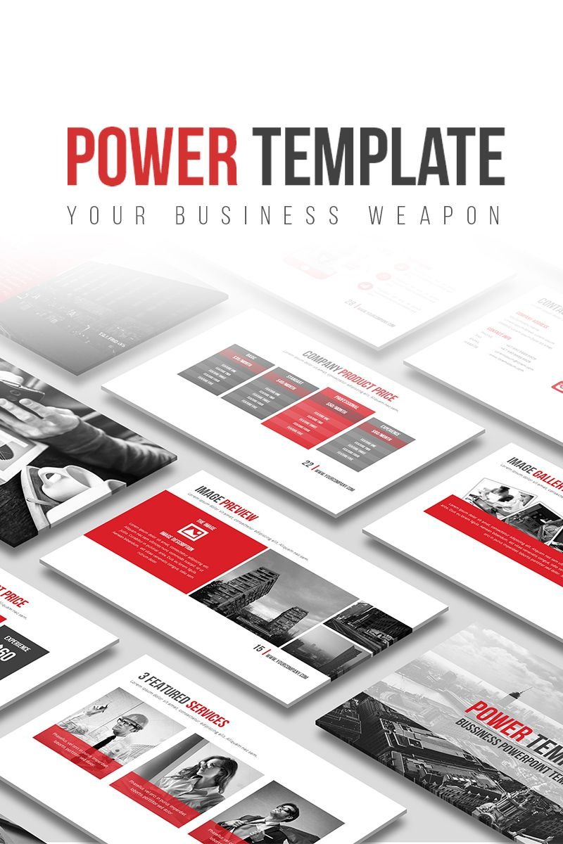 Power powerpoint template powerpoint templates pinterest power powerpoint template toneelgroepblik Images