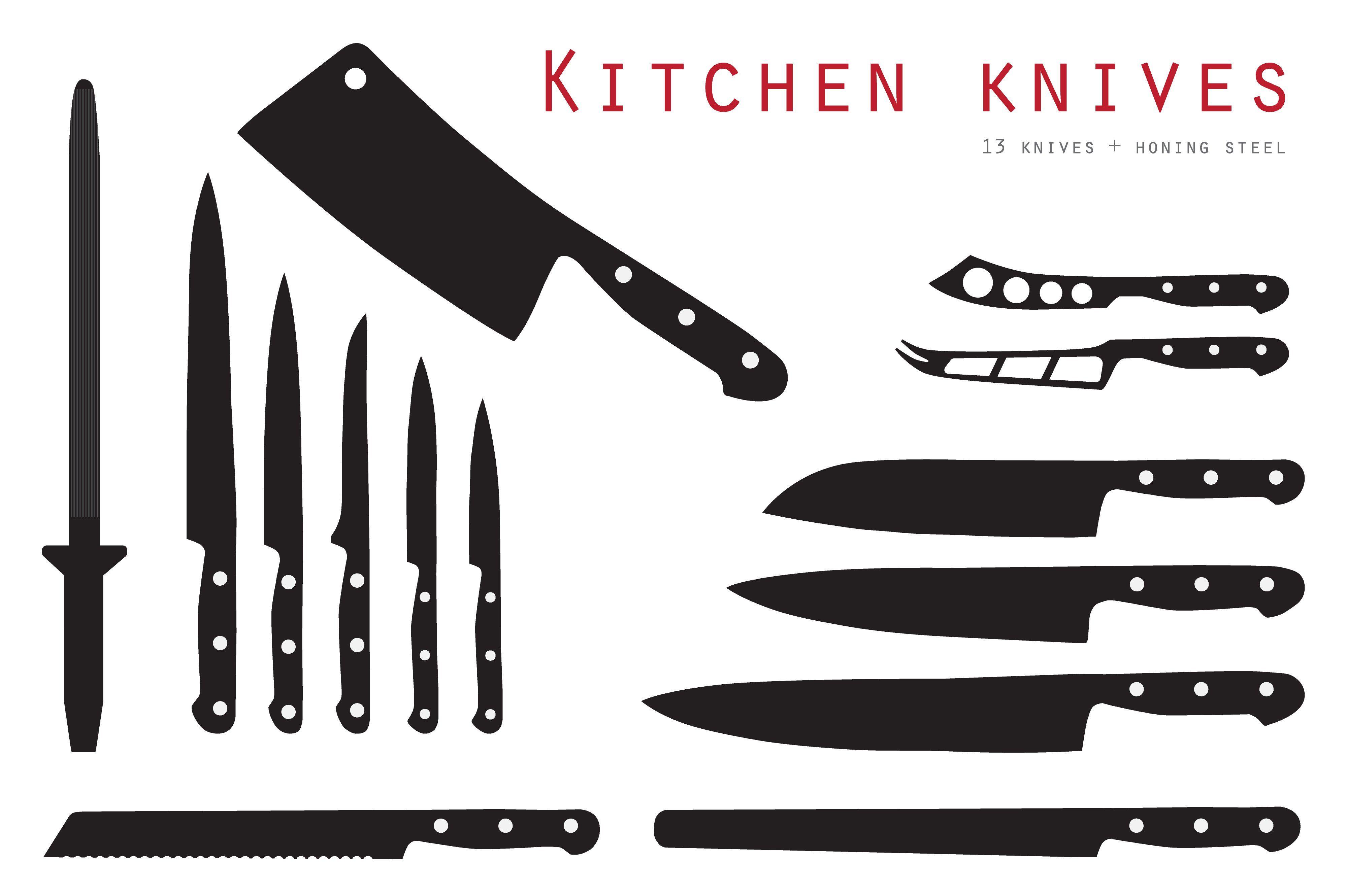 Kitchen Knife Set Kitchen Knives Chef Knife Knife Set Kitchen