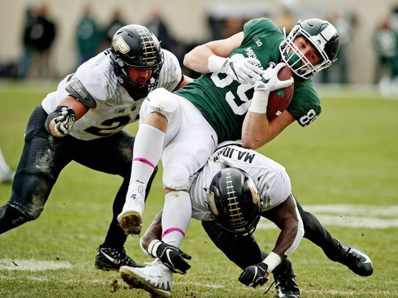 Matt Dotson Wants The Ball And Michigan State Is Looking To Boost Te Production Mlive Com