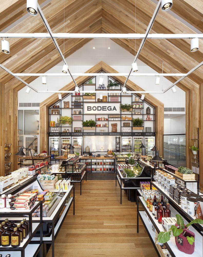 Gallery Of Urby Staten Island Concrete 6 Supermarket Design Grocery Store Design Retail Store Design