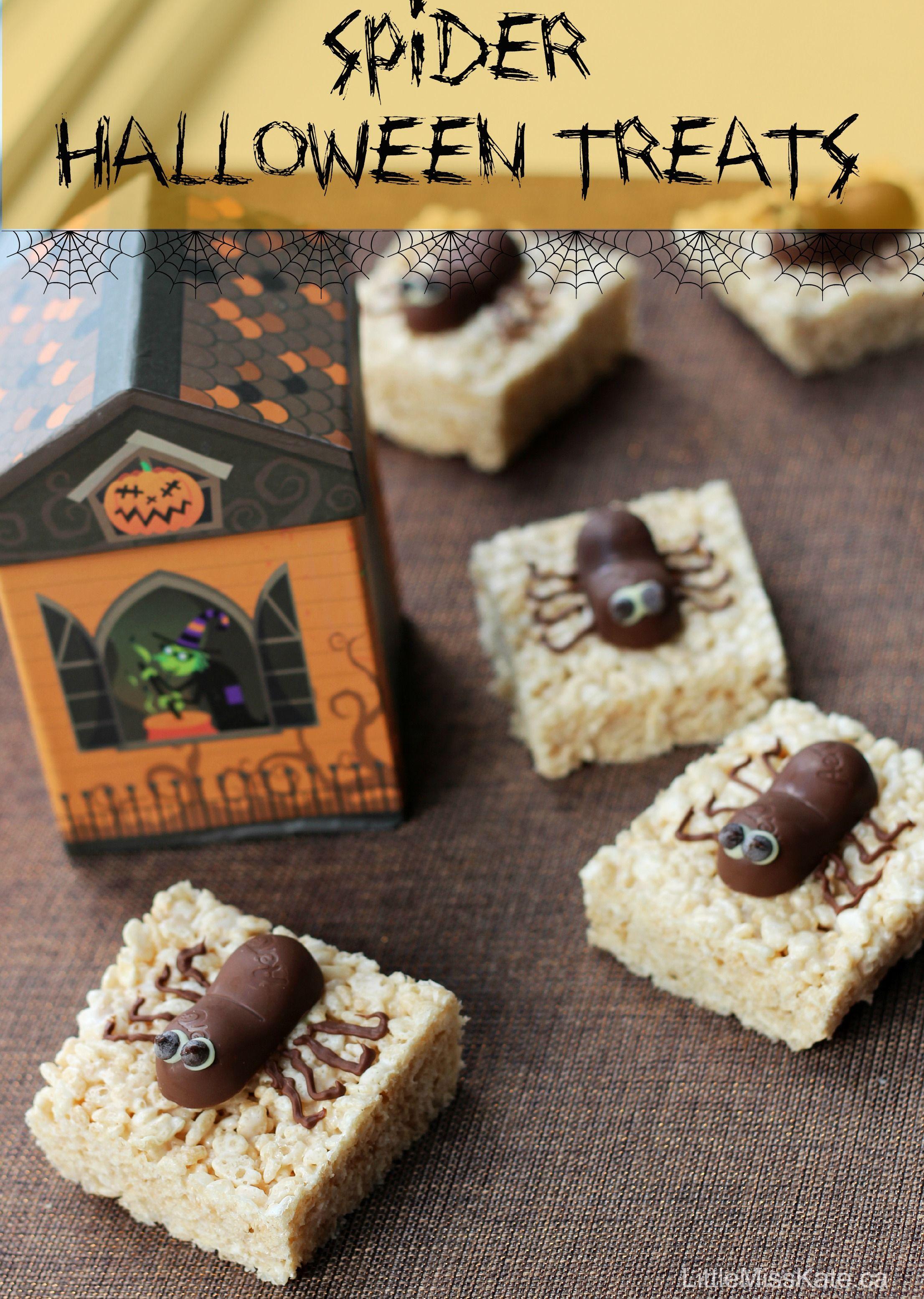 spooktacular spider halloween treats recipe halloween pinterest