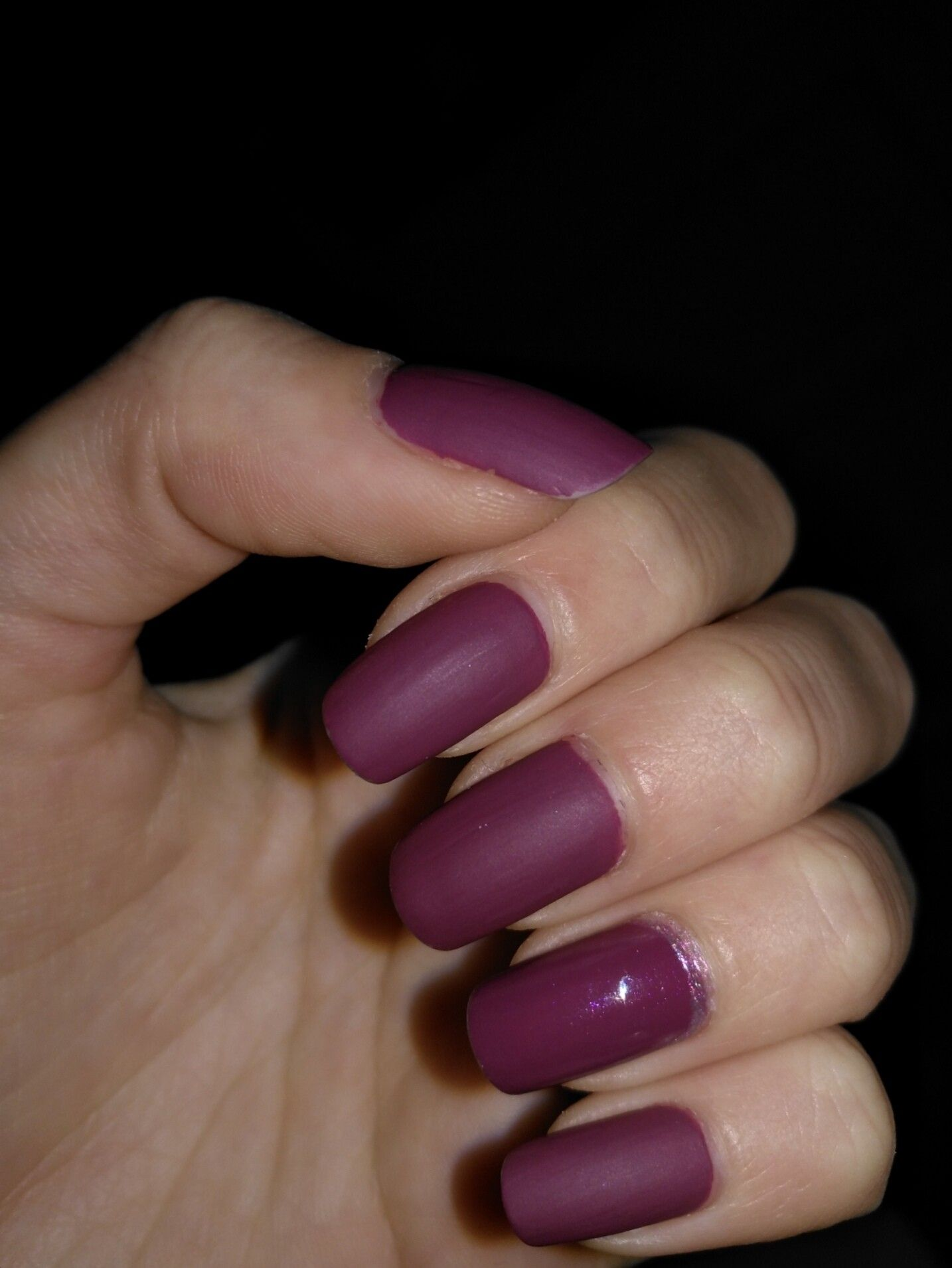 Matte and Glossy - Nail Art 💜💜💜💜 O.P.I. matte top coat - Autumn ...