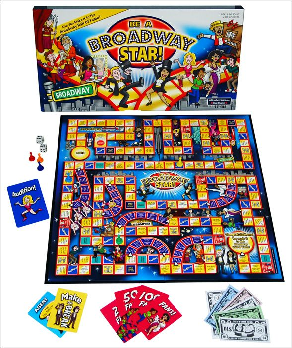 Be A Broadway Star The Board Game That Puts You In The Spotlight