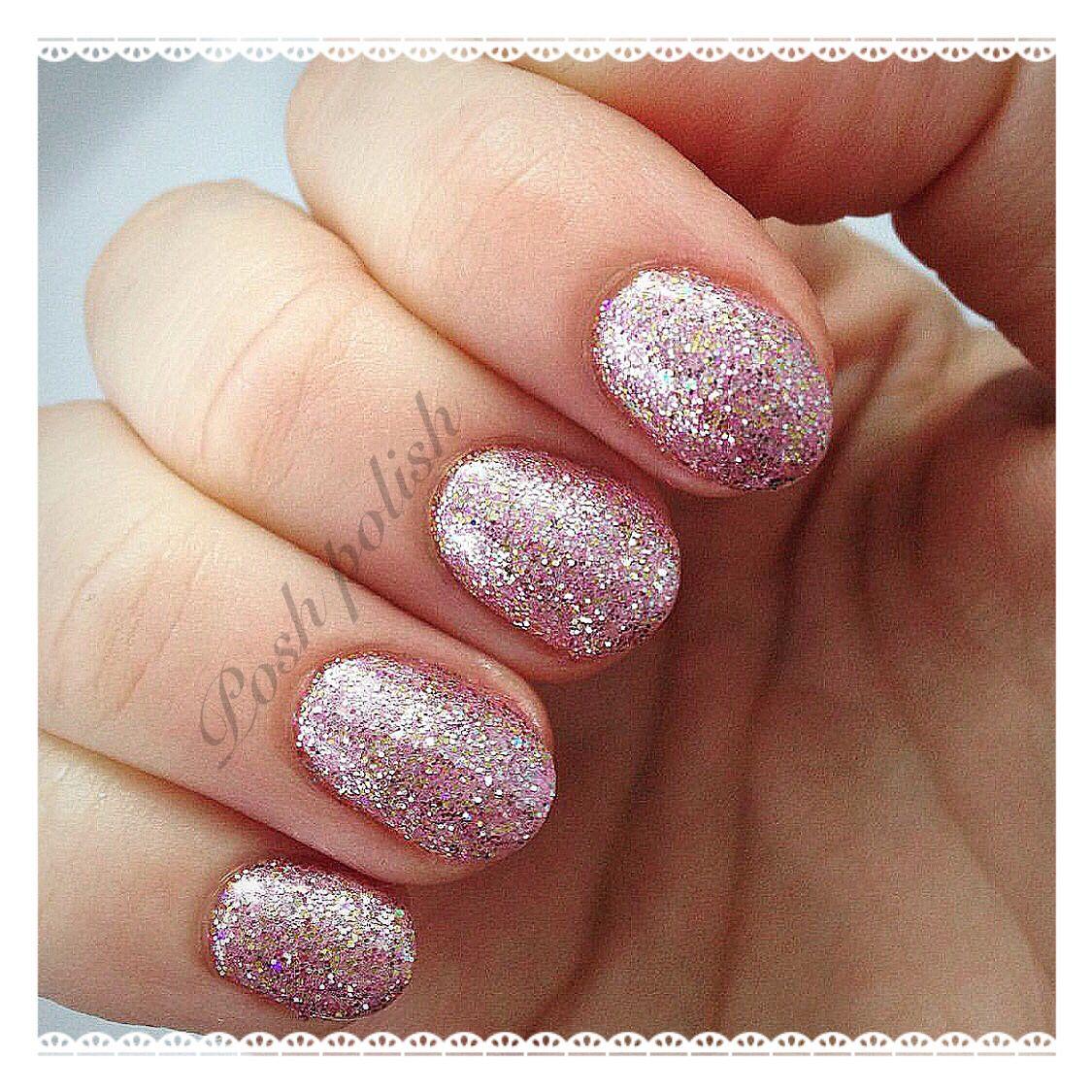 Cnd Shellac Tundra With Plum Champagne Glitter Xoxo Nails Nail Art Cnd Shellac