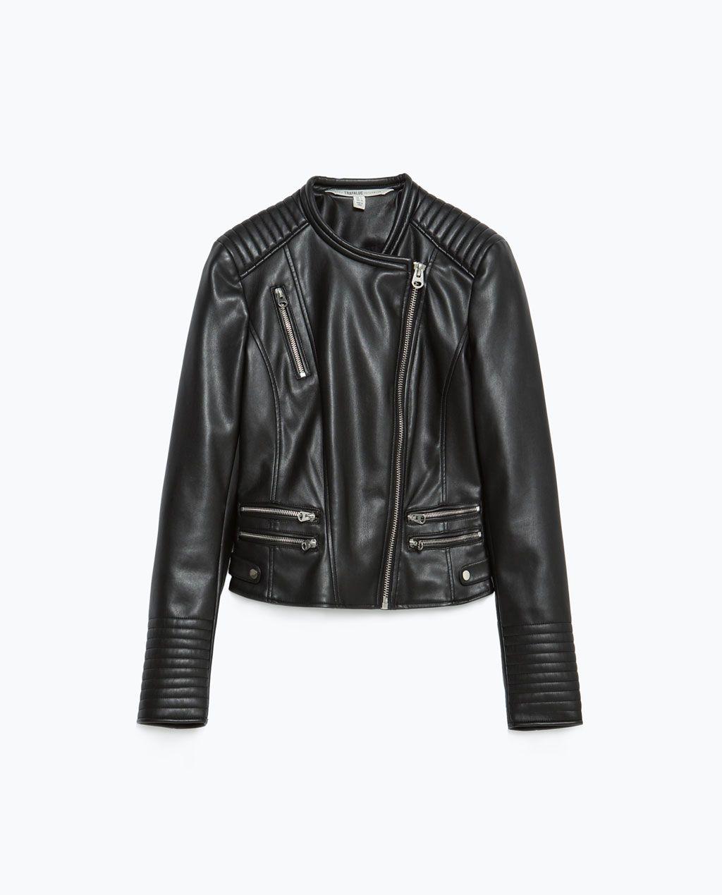 JACKET WITH ZIPS Jackets TRF | ZARA United States | Things