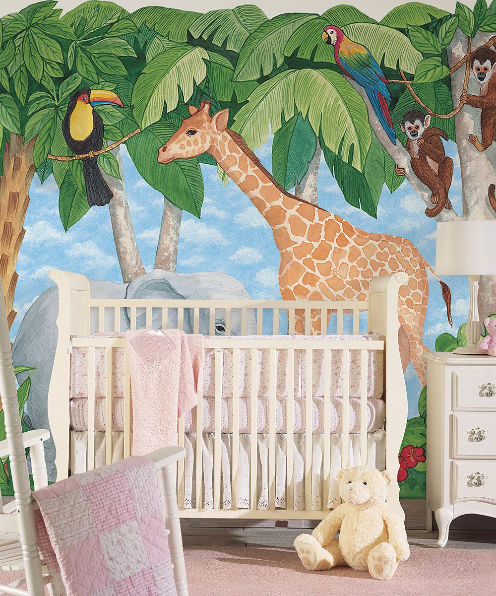 Best Jungle Nursery Mural Diy Pinterest Nursery Jungle 640 x 480