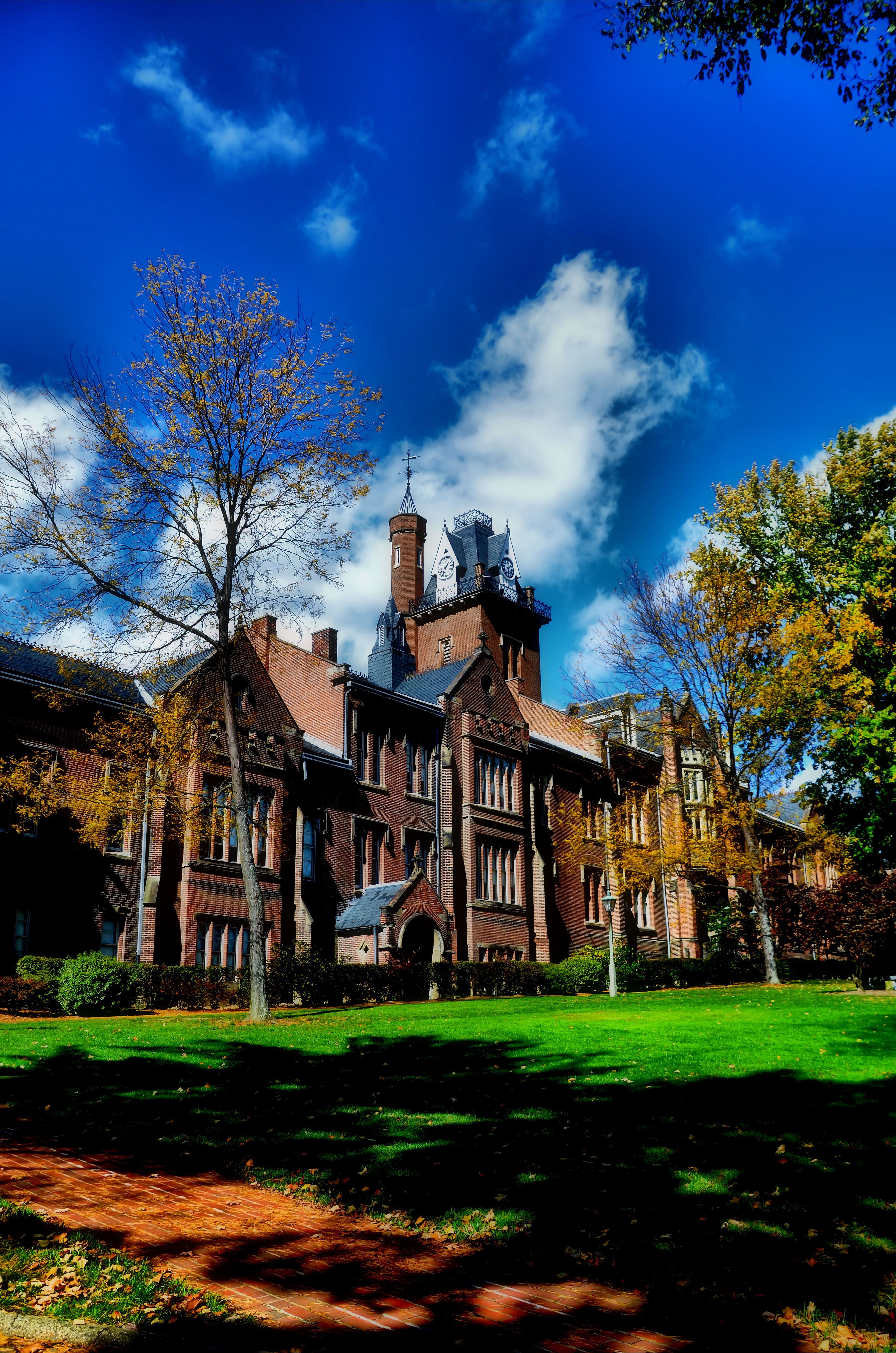 Colleges In West Virginia >> Old Main Building On The Bethany College Campus Colleges