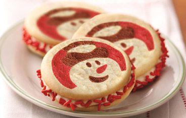 Pillsbury Snowman Cookies House Cookies