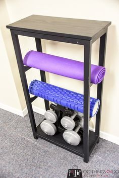 Yoga Mat Storage Yoga Mat Rack Treadmill Table Home Gym Organization Home Gym Essential Gym O Workout Room Home Gym Room At Home Workout Room Organization